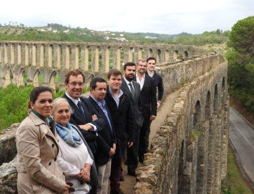 PSD Tomar visita Aqueduto dos Pegões e Convento de Cristo