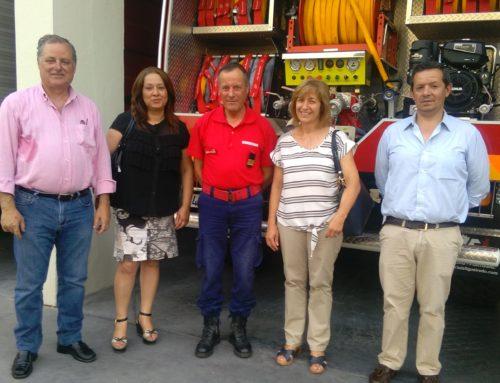 PSD Visita Quartel dos Bombeiros de Tomar